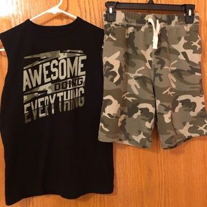 Youth boy's Shorts Outfits